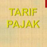 TARIF PAJAK DAERAH